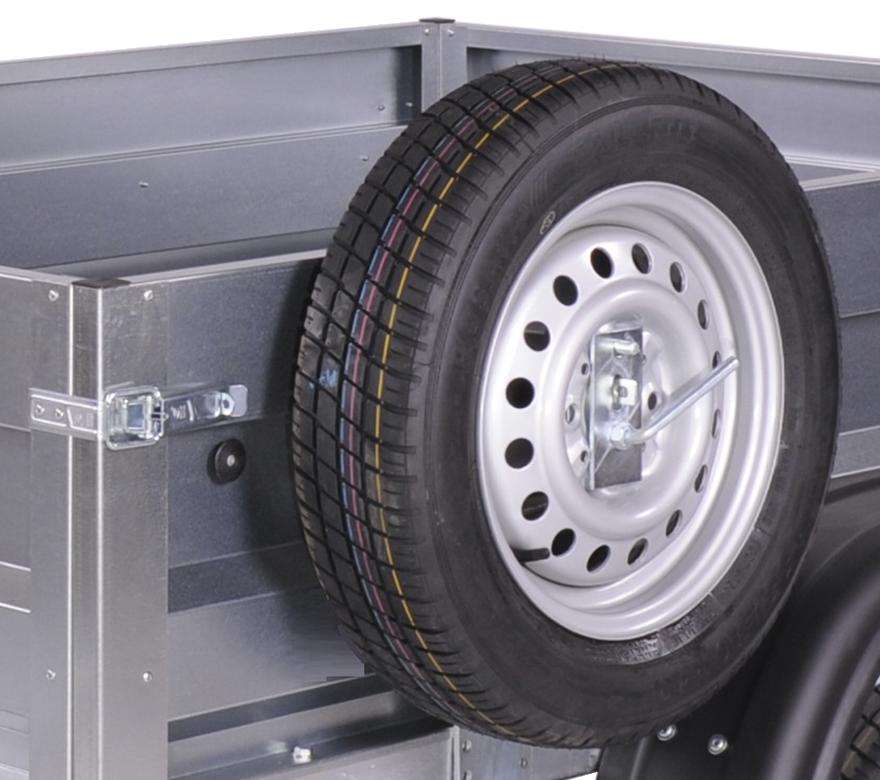Porte-roue de secours latéral