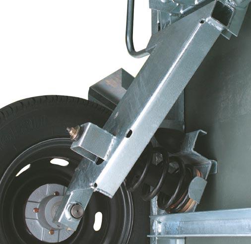 Bras de suspension 750kg