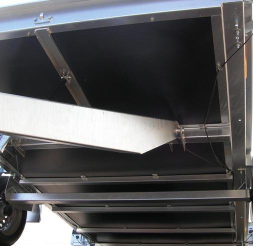 Chassis mécano-soudé et galvanisé à chaud