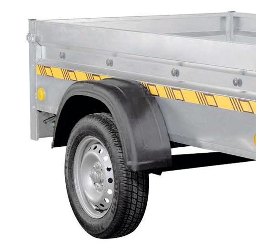 suspension par essieu 750 kg non freiné