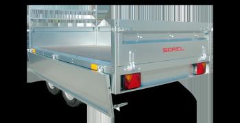 Remorque N262 de la gamme Nordika Utilitaire Sorel
