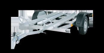 Remorque PM2N de la gamme Porte moto et quad
